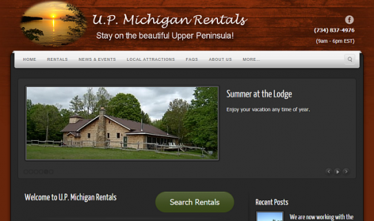 upmr home page example